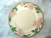 "Vintage FRANCISCAN Desert Rose Hand Painted 10 1/2"" Dinner Plate-California USA"