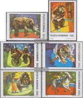 Rumänien 5026-5031 (kompl.Ausg.) postfrisch 1994 Zirkus