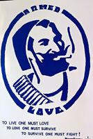 ZIG ZAG MAN - ARMED LOVE 1968 -POT FREEDOM- RAT UNDERGROUND NEWS - SCARCE