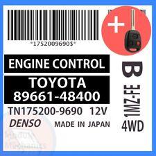 89661-48400 W/ PROGRAMMED TRANSPONDER KEY 2003 03 Lexus RX300 OEM ECU ECM BCM