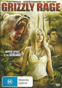 Grizzly Rage Dvd / Superb Condition Pal Region 4 / Rare Movie Out Of Production