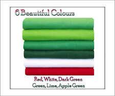 ECO Friendly Viscose Felt Squares, Green/Red Shades 12 squares  30cm x 25cm