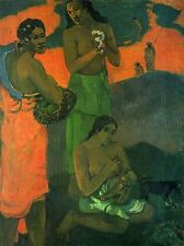 PAUL GAUGUIN MOTHERHOOD OLD MASTER ART PAINTING PRINT POSTER 2189OMA