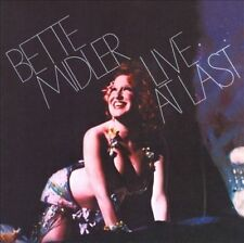 Audio CD: Live At Last, Bette Midler. Good Cond. Limited Edition. 829421290001
