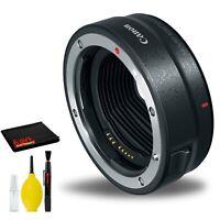 Canon Mount Adapter EF-EOS R (2971C002) Best-Value BundleIncludes- Deluxe Camera