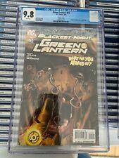 GREEN LANTERN #51 NM/MT 9.8 CGC 1:25 GREG HORN VARIANT Blackest Night Scarecrow