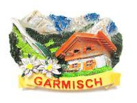 Garmisch Partenkirchen Magnet Poly Germany Souvenir Skisprungschanze