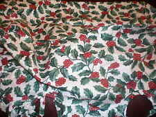 Longaberger Fabric Bow - Traditional Holly