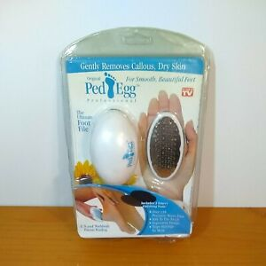 Ped Egg Classic The Ultimate Foot File As Seen On TV Brand New (NOS)