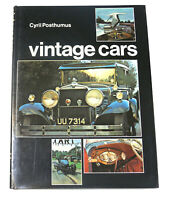 Cyril Posthumus VINTAGE CARS; MOTORING IN THE 1920S  1st Edition 1st Printing