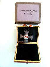 """Roter Adler Orden 4.Klasse, Silber, Ritzmarke """"W"""", mit Etui und Umkarton - Top"""