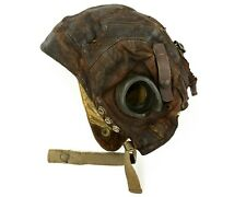 WW2 RAF Type-C Leather Flying Helmet