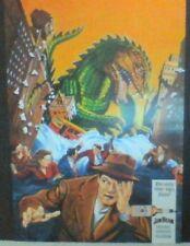 "Jim Beam Original ""Beam me up Jim!"" Beast from 20000 Fathoms Movie Promo Poster"