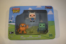 pocket pop adventure time jake finn bmo with metal box avec boite en métal neuf