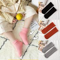 Wool Thicken Kids Cotton Socks Baby Foot Warmers Snow Floor Socks Velvet Boots
