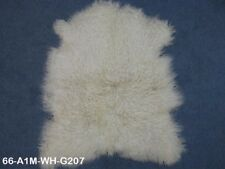 Angora Goatskin: #1: Medium: White: Gallery Item (66-A1M-WH-G207) EB
