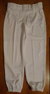 Nike Mens Baseball Pants High Cuff Size LARGE white