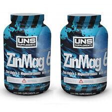 Uns Zma 2 X 90 Caps. Zinc + Chelate Magnesio + Vita. B6 Pastillas Tabletas 180 Caps
