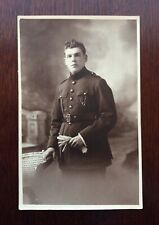 World War One British Army Soldier Real Photo Style Postcard (WW1)