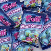 Trolli Planet Gummi with Sour Centers, 4 Count, As Seen On Tiktok (Tik Tok ASMR)
