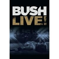 BUSH - LIVE!  DVD  ALTERNATIVE ROCK  NEW+
