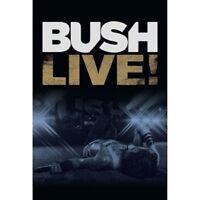 BUSH - LIVE!  DVD  ALTERNATIVE ROCK  NEW+