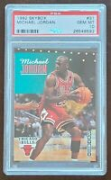 HOF Michael Jordan 1992 Skybox #31 PSA 10 GEM MINT Chicago Bulls
