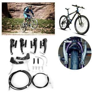 Kit Freni V-Brake in alluminio + Coppia Leve per Bici  MTB Mountain CITY BIKE