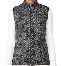 Adidas Women Climawarm Printed Fleece Vest (S) Black AF0805