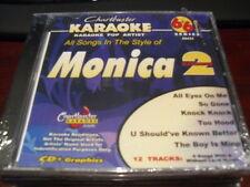 CHARTBUSTER 6+6 KARAOKE POP DISC 40431 MONICA VOL 2 CD+G MULTIPLEX