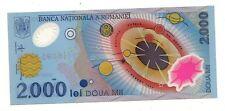 Romania  2000 lei 1999    FDS  UNC      Pick 111     lotto 3851