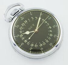 Hamilton Base Metal GCT WWii 4992B Pocket Watch