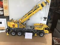 LEGO SET TECHNIC 42009 CRANE WITH POWER FUNCTION BOXED + INSTRUCTION MANUAL