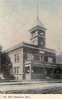 D74/ Plainview Minnesota Mn Postcard c1910 City Hall Building