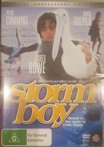 STORM BOY RARE DVD SPECIAL ANNIVERSARY EDITION DAVID GULPILIL PETER CUMMINGS OOP