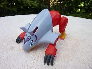 Rare Digimon Digivolving Halsemon Figure 2000 Good Used Condition Not Complete
