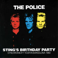 POLICE STING'S BIRTHDAY PARTY  1983 Barcelona Spain 1CD (PRESS DISC)