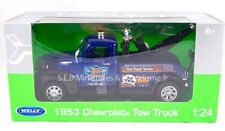 CHEVROLET TOW TRUCK 1953 DEPANNEUSE GARAGE 66 1/24 WELLY