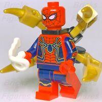 Marvel Super Heroes LEGO® Iron Spider-Man Infinity War Minifig Avengers 76108