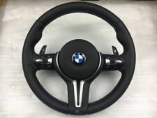 BMW Steering wheel with pedals M5 F10 F11 F18 F06 F12 F13 F01 Heating + Vibro