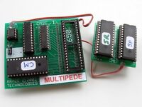 Multipede (Centipede and Millipede) Multigame Free Play and High Score Save Kit