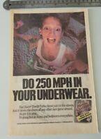 Rad Racer II Rare Nintendo Advertisement (1990)