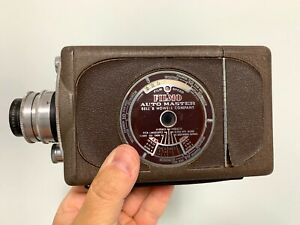 FILMO Auto Load 16mm Movie Camera Bell & Howell 16mm Vintage UNTESTED