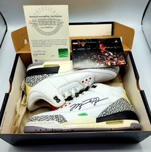 Michael Jordan 2013 Flight School Camp Autographed Shoe with Upper Deck C.O.A.