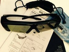Samsung SSG-2100AB, 3D TV GLASSES with Pouch,Battery,NEW But No Retail Package.