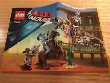 Lego Movie - Getaway Glider 70800 Complete with Instructions