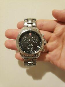 Wenger Swiss Military 79136 Men Stainless Steel Watch Wristwatch