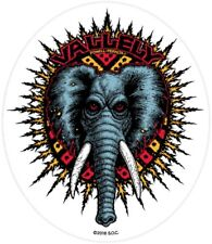 "POWELL PERALTA - Mike Vallely - Elephant Skateboard Sticker 4.5"" Bones Brigade"
