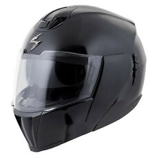 Scorpion EXO-900X Flip Up/Modular Motorcycle Helmet Gloss Black Adult XS