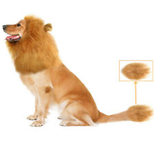 For Pet Costume Lion Mane Wig Dog Halloween Clothes Gift [Lion Tail] Fancy Dress
